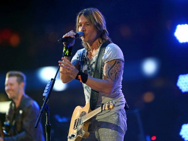 Keith Urban Rodeo Houston singing