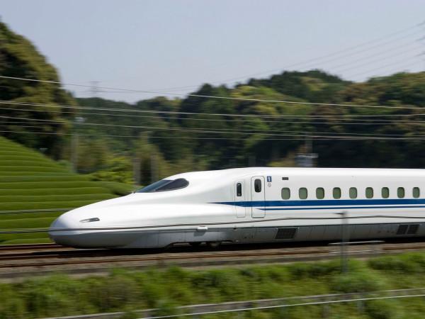 Central Rail high-speed bullet train rail