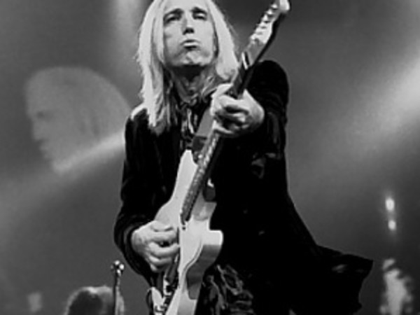 Tom Petty black and white