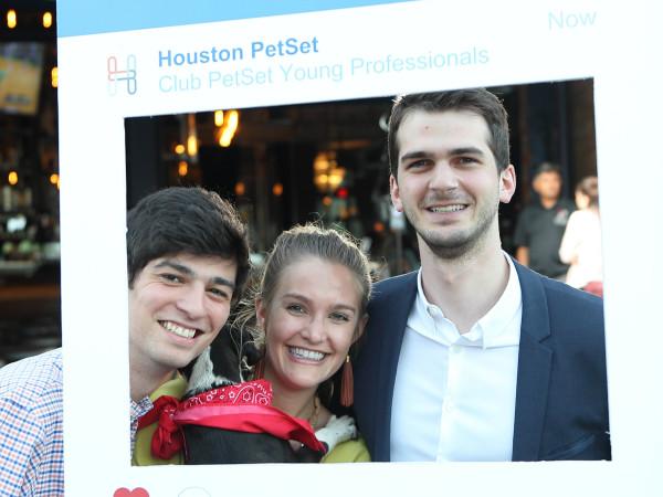 Club PetSet Young Professionals Andrew Barton, Frances Moody, Michael Fertitta Barton