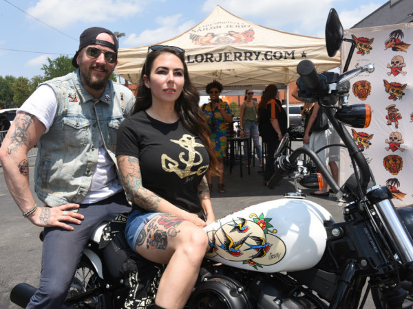 Anthony Bohlinger, Ashley Marsh, Harley Davidson