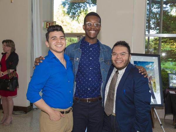 Chris Ramirez, Nicholas Wanjohi, Rudy Lopez