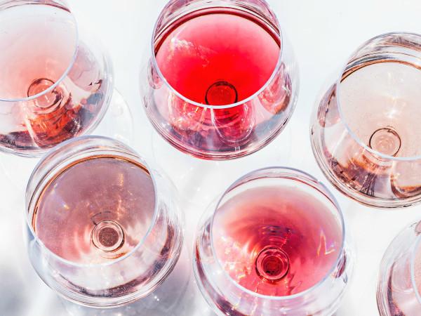 rosé glasses
