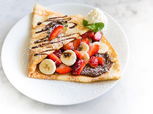 Sweet Paris Nutella crepe