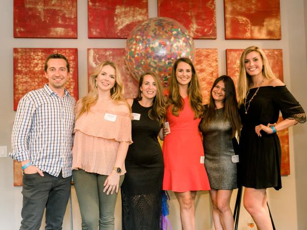 YHHCC Board Members Tyler Felt, Caroline Sherbrook, Caitlyn Pesl, Alyx Haraway, Rachael Gordon, Alexis Peltier