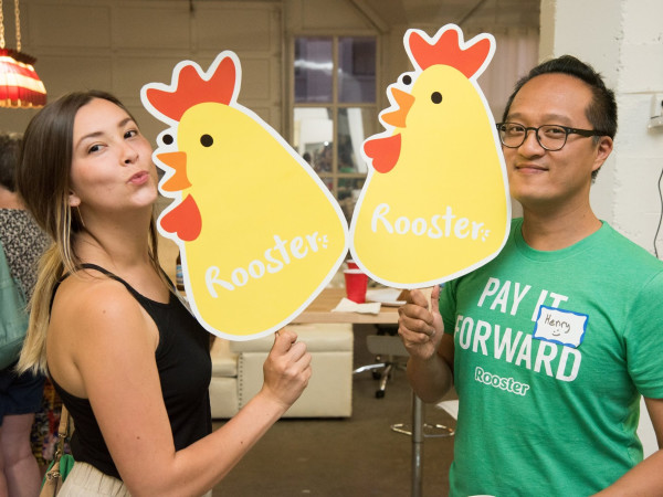 Rooster Pay it Forward App