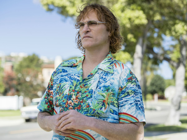 Joaquin Phoenix in Don't Worry, He Won't Get Far on Foot