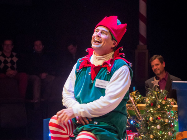 ZACH Theatre presents Santaland Diaries