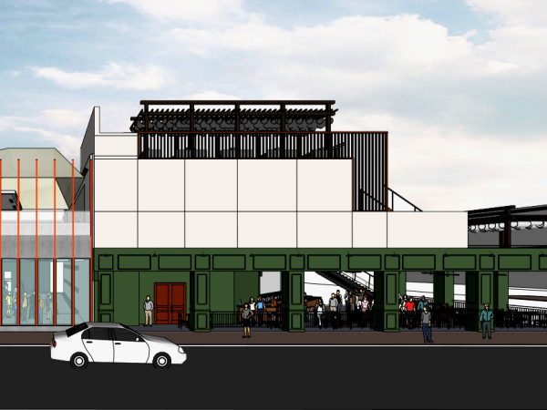 Jack & Ginger's Irish Pub and 77 Degrees Midtown rendering