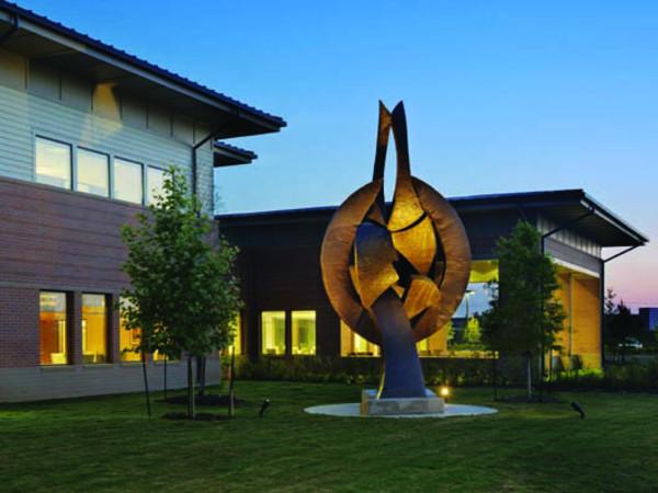 Menninger sculpture hospital Houston