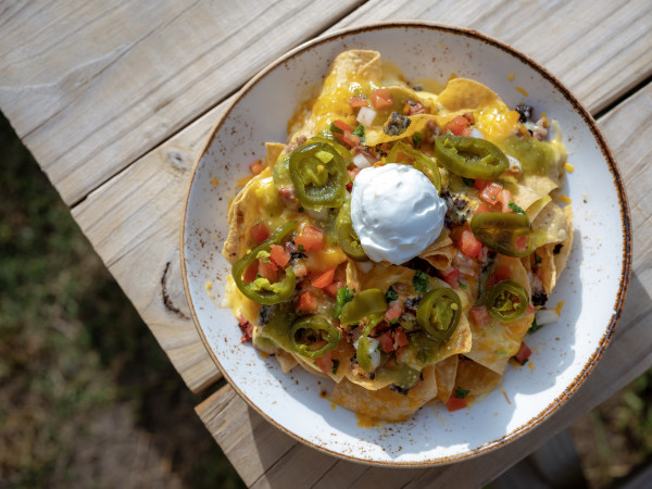 Killen's TMX barbecue beef nachos