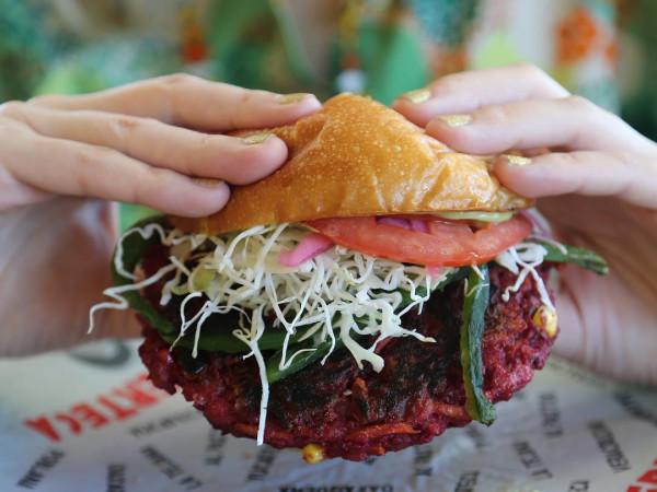 Burgerteca San Antonio burger