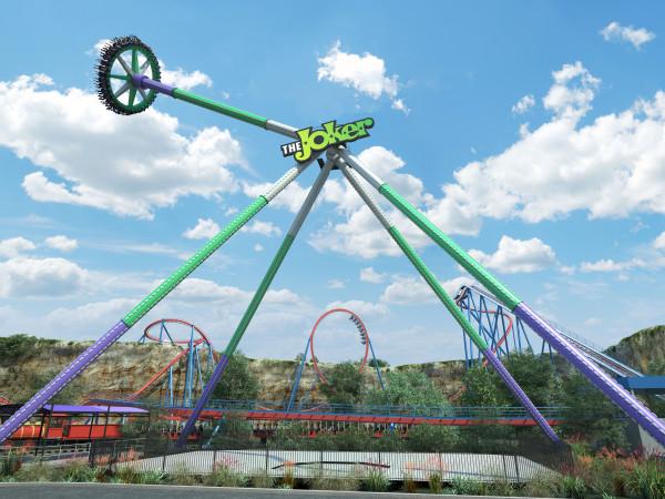 Fiesta Texas Joker Wild Card ride