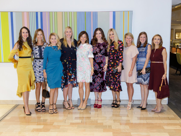 Attendees at Crystal Charity Ball 10 Best Dressed Luncheon 2018