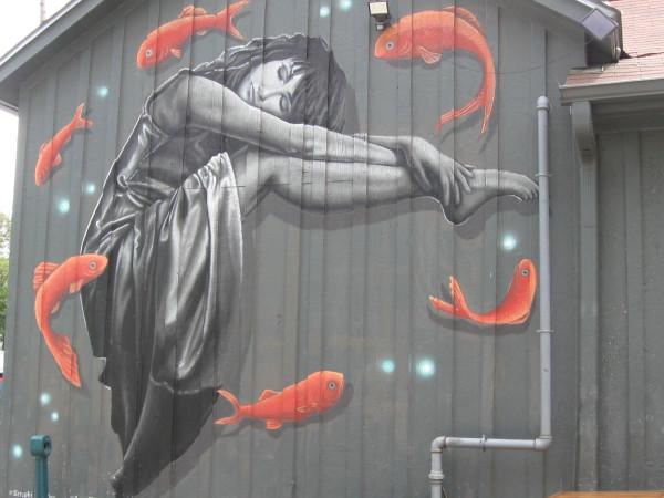 Daydreaming mural Austin