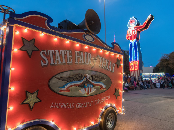 Big Tex at the State Fair