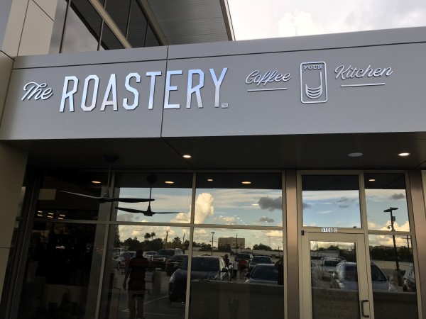 The Roastery Bellaire HEB exterior