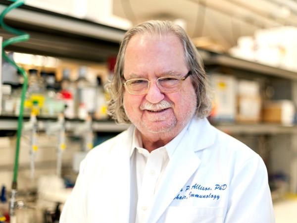 Jim Allison MD Anderson Nobel Prize