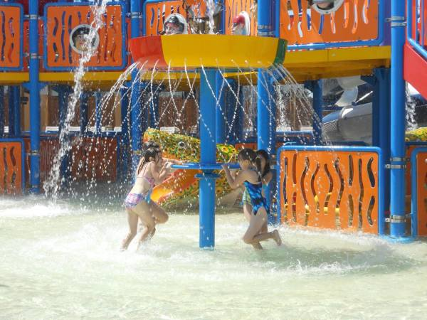 Pirates Cove water park