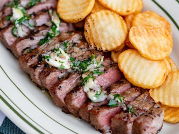 BB Lemon steak frites