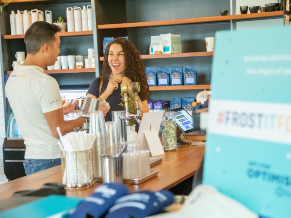 Frost pop-up at Merit Coffee San Antonio