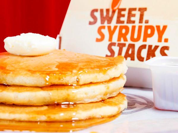 Drive-Thru Gourmet - Burger King pancakes