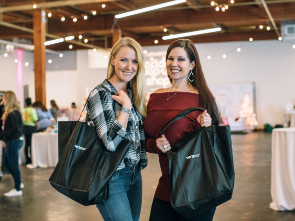 Sarabeth Quattlebaum, Kelsey Thompson, CultureMap Holiday Pop-up Shop