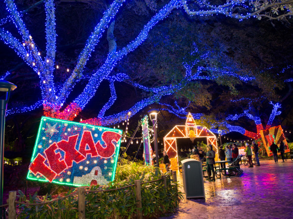 Houston Zoo Lights