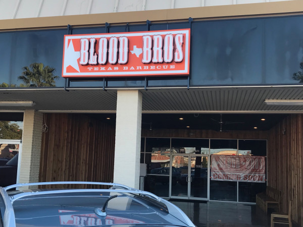 Blood Bros BBQ Bellaire exterior