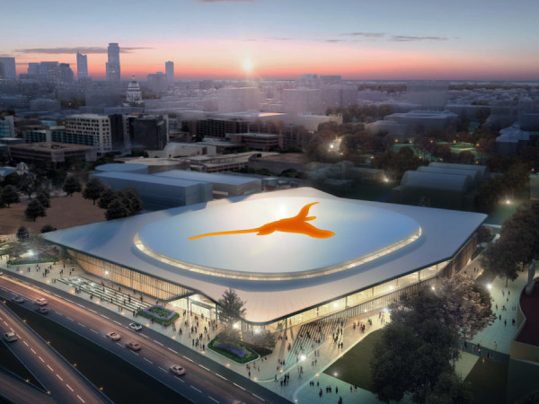 UT basketball arena university of texas rendering