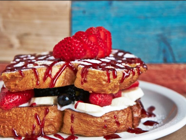 Challah Stuffed French Toast