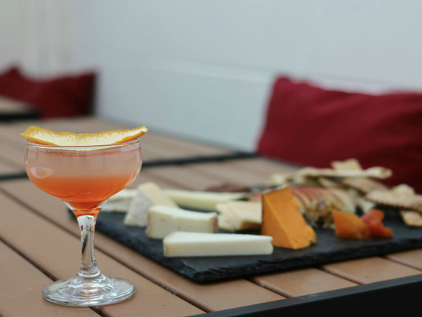 Vino Vino Austin cheese plate cocktail