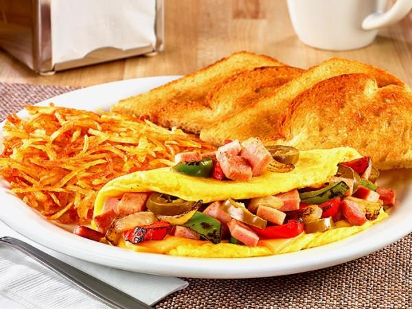 Drive-Thru Gourmet - Denny's Wild West Omelette