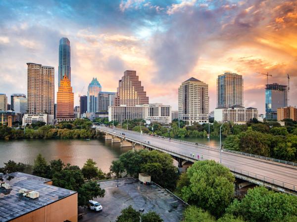 Downtown Austin skyline