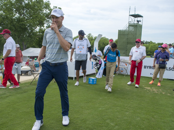 Jordan Spieth at AT&T Byron Nelson Golf Tournament