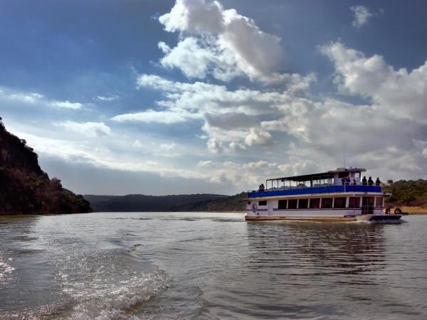 Vanishing Texas River Cruises boat Lake Buchanan