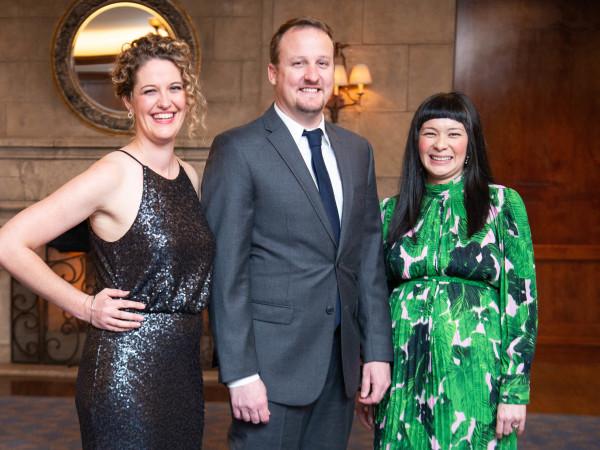 Inprint Poets & Writers Gala 2019: essica Wilbanks, Henk Rossouw, Thea Lim