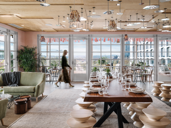 P6 Austin dining room