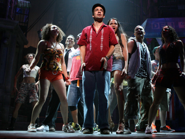 In the Heights Broadway cast