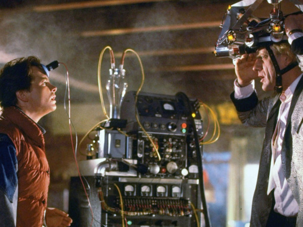 Back to the Future movie still