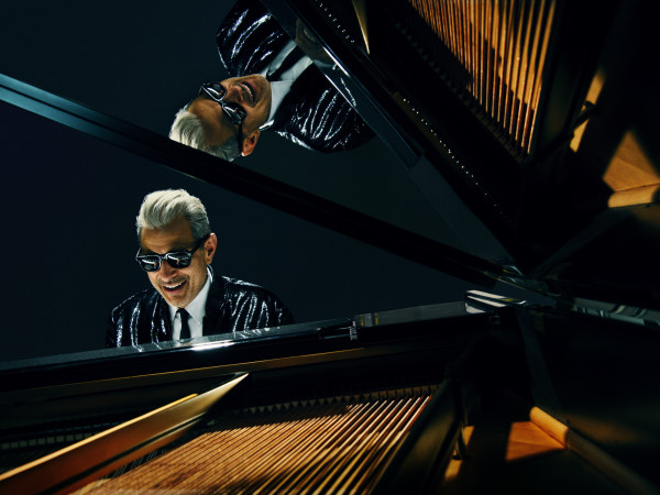 Jeff Goldblum piano