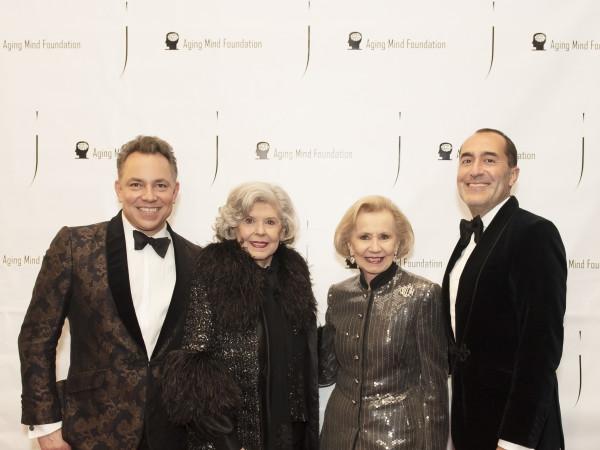 •John Clutts, Martha Wyly Miller, Yvonne Crum, and Sami Arslanlar