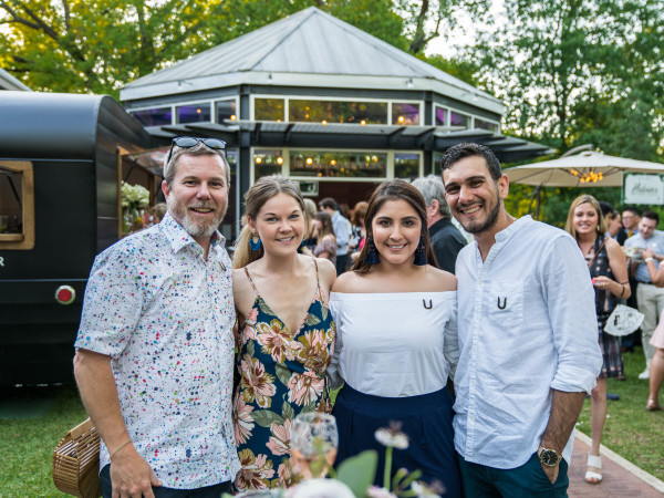 Umlauf Garden Party 2019 Jason Rogers Danielle Harkness Carly Castillo Taylor Bowman