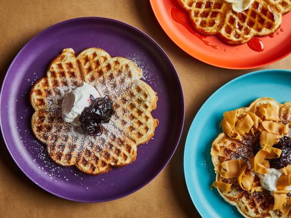 Carpenters Hall heart waffles