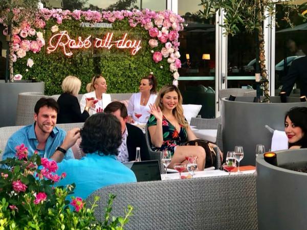 Fig & Olive Rosé Terrace Houston