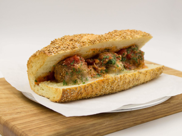 Swine House Bodega meatball sub