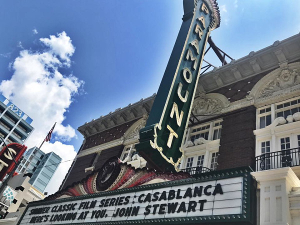 Paramount Theatre marquee movie series