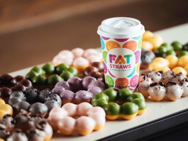 Fat Straws mochi doughnuts