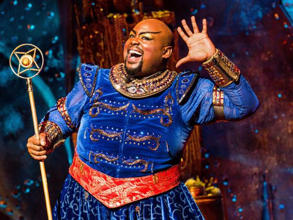 Major Attaway in Aladdin on Broadway