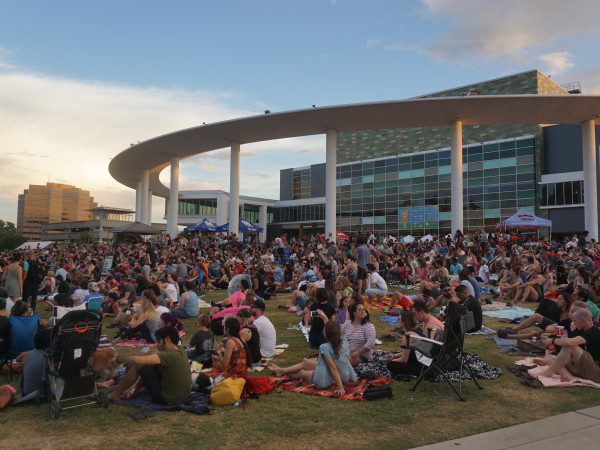 Sound & Cinema Long Center lawn